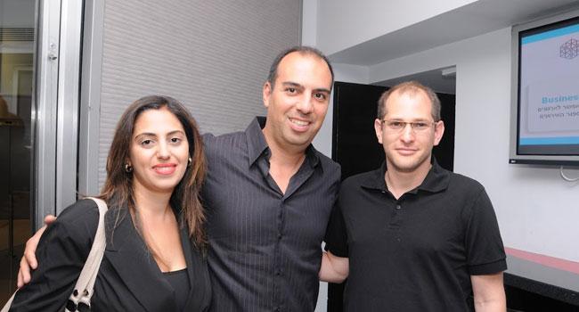 מימין: אמיר רמון, מנהל אגף בקבוצת יעל; וגדי דוידיאן - מנמ