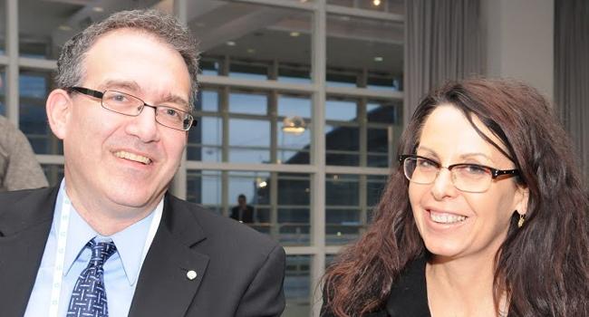 דלית טסל - מנהלת השיווק של HP ישראל, וסער גילאי - הישראלי הבכיר בקבוצת הענן העולמית של HP. סער מונה לאחרונה לסגן נשיא למוצרים וטכנולוגיות בתחום ענן אחוד