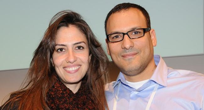 אריאל רוזמרין - מנהל שותפי תוכנה ב-HP ישראל, ואור ברדה - מנהלת שירות תוכנה ב-HP ישראל