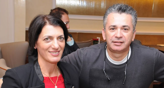 יענקל'ה קניג - דירקטור שירותים טכנולוגיים ב-HP אירופה, רות ברגמן - מנהל HP LABS בישראל