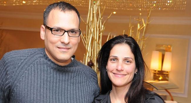 גילי מנור לוי - מנהלת מכירות בחטיבת התוכנה של HP, ואריאל רוזמרין - מנהל שותפי תוכנה ב-HP