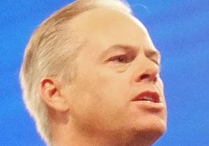 """מייק גרגור, מנכ""""ל CA. צילום: אבי בליזובסקי"""