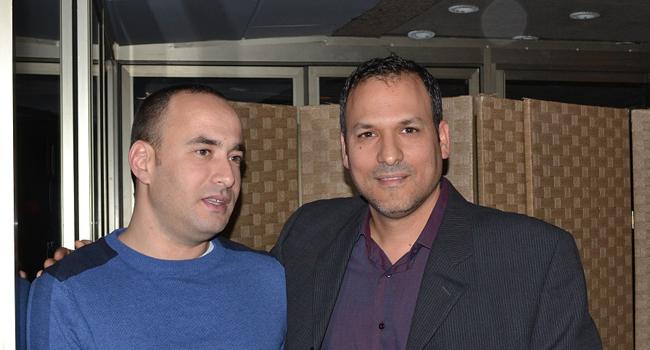 מימין: אריאל רוזמרין, מנהל השותפים היוצא לדרום אירופה ב-HP; גיא ריצ'קר, מנהל מדינה-ישראל ב-HPSW