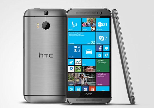 """ה-One M8 של HTC. צילום: יח""""צ"""