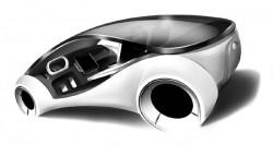 אפל ברמז מובהק – עובדת על מכונית בנהיגה עצמית