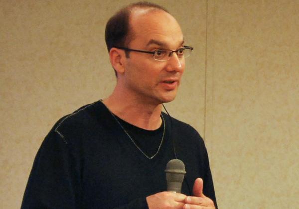 """אנדי רובין, מייסד ומנכ""""ל Playground Global ויוצר האנדרואיד. צילום: ויקיפדיה"""