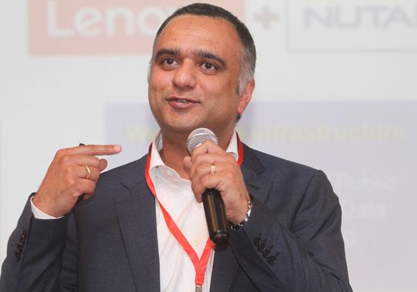 דיראג' פאנדי, מייסד ומנכ''ל נוטניקס. צילום: ניב קנטור
