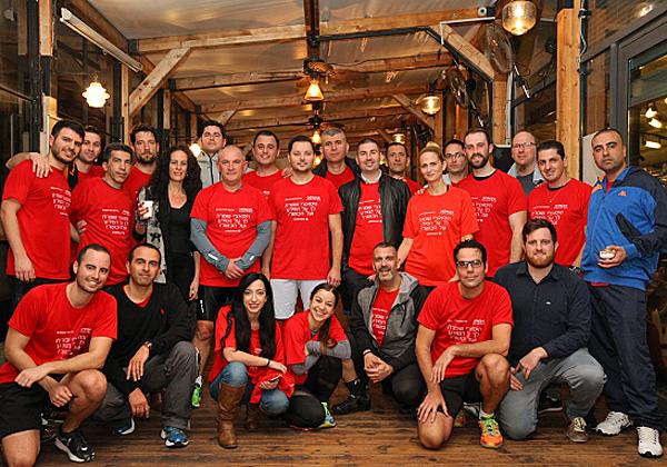 המשתתפים, רגע אחרי האימון