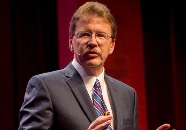 """ד''ר ג'ון קלי, סגן נשיא בכיר, יחידת הפתרונות והפיתוח למחשוב קוגנטיבי של יבמ. צילום: יח""""צ"""
