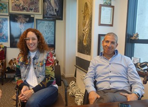 באו לבקר במאורת הנמר: אסף גבעתי, מטריקס, ודלית רוזן, Infinity Labs