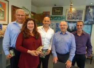 באו לבקר במאורת הנמר: הנהלת Experis Israel