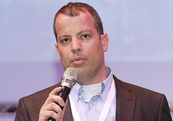 רואי ליטרט, מנהל שותפים עסקיים, פאלו אלטו נטוורקס. צילום: ניב קנטור
