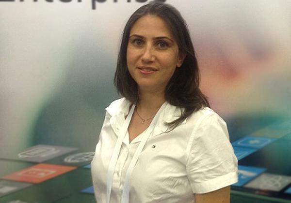 """יעל בן-יהודה, Big Data Presales Consultant ב-HPE. צילום: יח""""צ"""