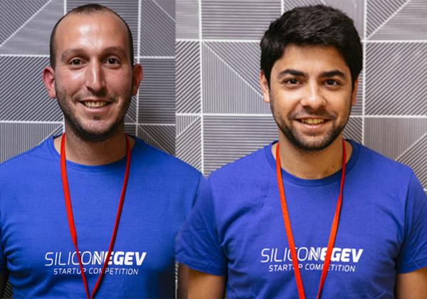 """מימין: אלון נפתלי ויותם צוקר, היזמים שמאחורי Tech7. צילום: ליצ'י, יח""""צ"""