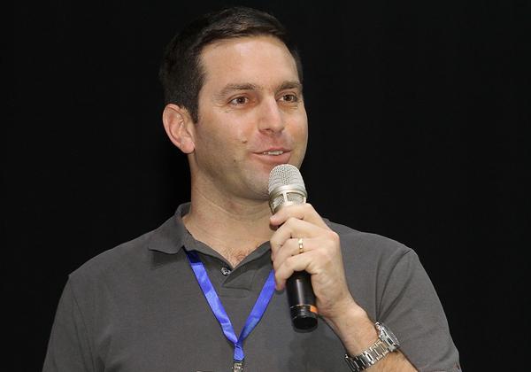 עמרי רחמים, מנהל המכירות של אירובוטיקס. צילום: ניב קנטור