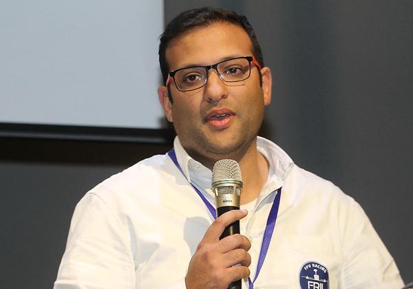רובי ליאני, חבר הנהלת ליגת הרחפנים הישראלית, FRIL. צילום: ניב קנטור
