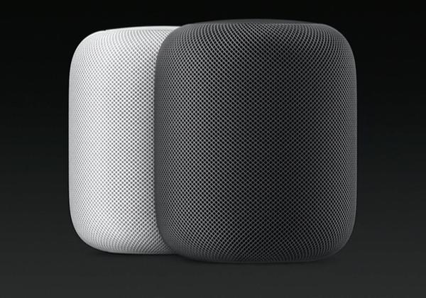 """שומעים מוסיקה כמו שצריך. HomePod של אפל. צילום: יח""""צ"""