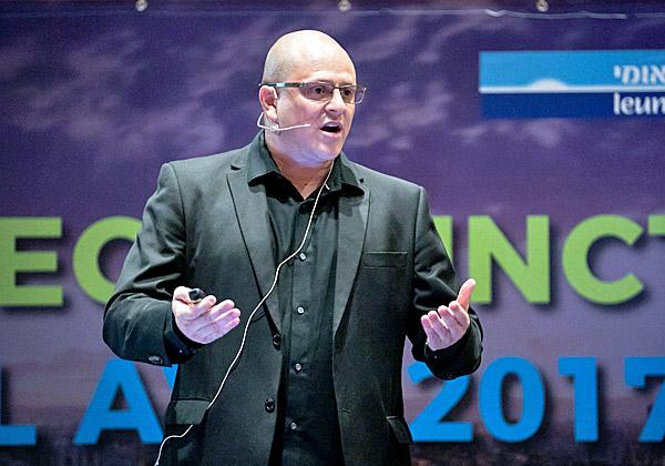 טל שריד, מנהל חדשנות וסייבר בחטיבת השירותים של מיקרוסופט ישראל. צילום: תומר פולטין