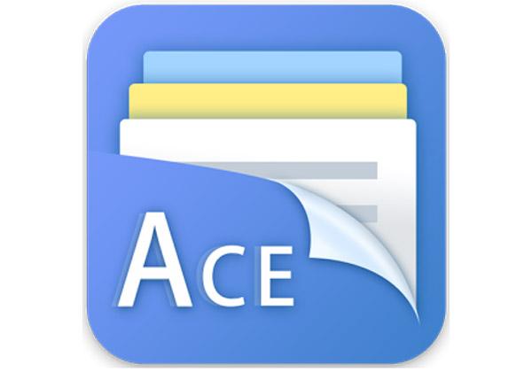 אפליקציה לניהול קבצים - עם יותר מדי מודעות. Ace File Manager