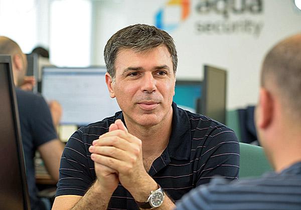 """דרור דוידוף, מייסד-משותף ומנכ""""ל אקווה סקיוריטי. צילום: יח""""צ"""