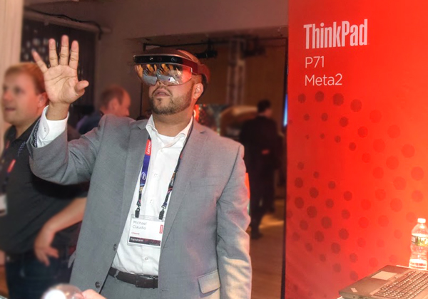 היום מחשבי ThinkPad בחזית הבינה המלאכותית והמציאות הרבודה לכל יישום. צילום: פלי הנמר