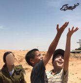 """סגל בסמ״ח מחטיבת לוט""""ם הקים קייטנת תכנות רחפנים לילדי ירוחם"""