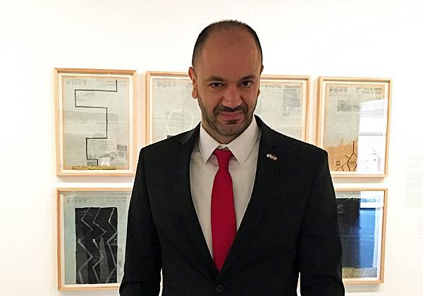 """מוטי דוזטו, מנמ""""ר מוזיאון ישראל. צילום: יח""""צ"""