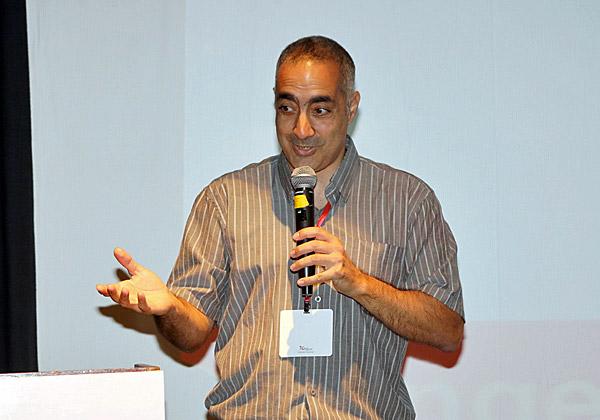 """אמיר עומרי, מנכ""""ל משותף ב-NetCloud. צילום: עזרא לוי"""