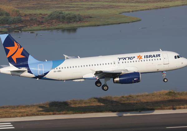 מטוס ישראייר בהמראה. צילום: ויקפידיה/Bram Steeman