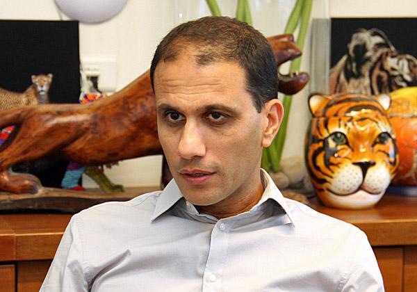 """ניר שלום, מנהל מרכז הפיתוח של AT&T בישראל. צילום: יח""""צ"""