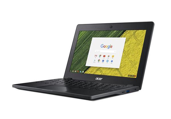 """ה-Chromebook 11 C771 של אייסר. צילום: יח""""צ"""