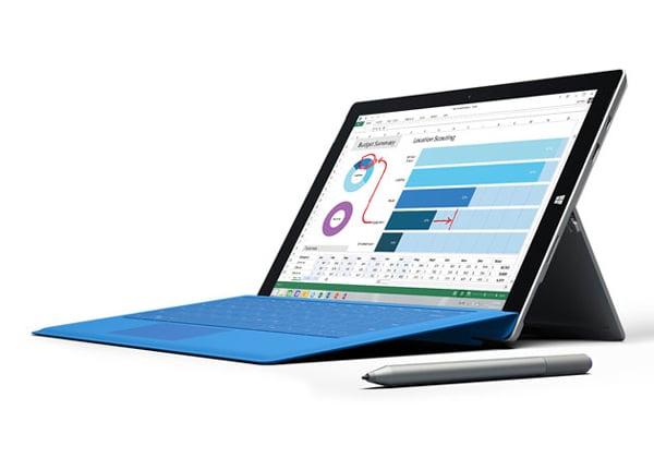 """איפה האח הנעלם? Surface Pro 3. צילום: יח""""צ"""