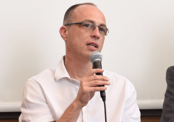 ד''ר אמיר שרייבר, מנהל אבטחת מידע בישראכרט. צילום: לירן קרפ
