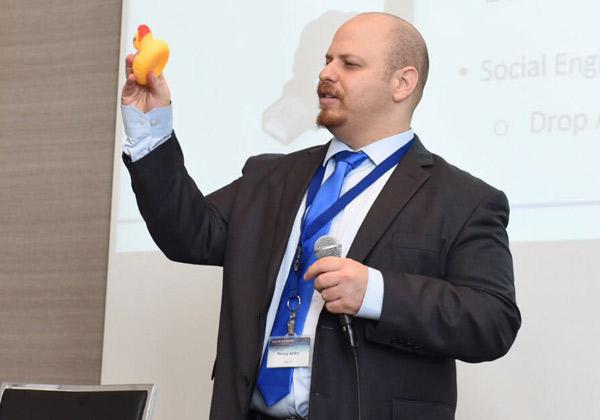 בני אנקרי, מנהל מוצר ב-safend, מקבוצת SuperCom. צילום: לירן קרפ