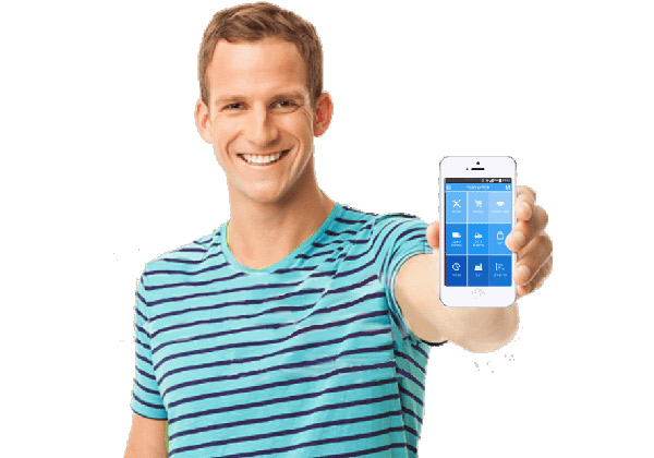כל פעולה נדרשת - באמצעות אפליקציה נוחה וידידותית בסמארטפון. צילום: יח