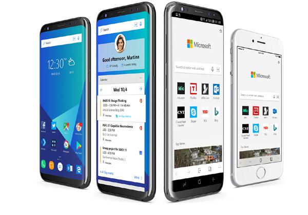 Microsoft Edge ל-iOS ו-Android. צילום: יח