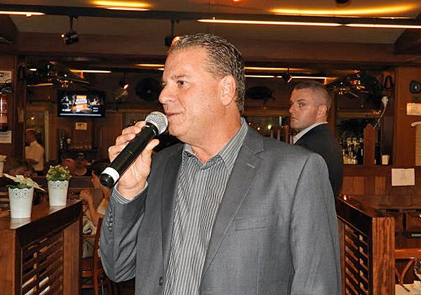 שמוליק ענתבי, מנהל בכיר לאגן הים התיכון ב-VMware, שהקים את הסניף הישראלי, ציין את חגיגות 10 שנים להיווסדו