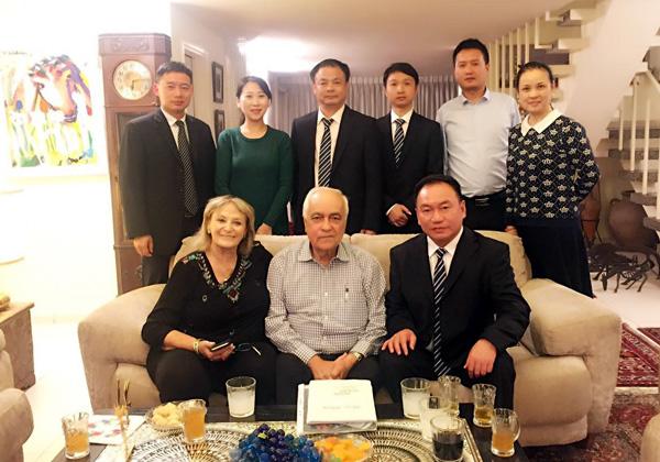 הנציגים הישראלים והסינים באירוע. צילום: Beijing-Israel knowledge