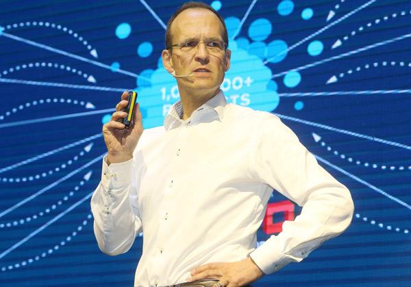 וורנר קנובליך, סגן נשיא בכיר, רד-האט ומנכ''ל אזור EMEA בחברה. צילום: ניב קנטור