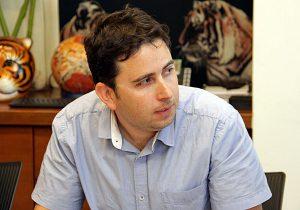 """ד""""ר נועם קוריאט, מנהל אגף המחשוב במשרד התיירות. צילום: יניב פאר"""