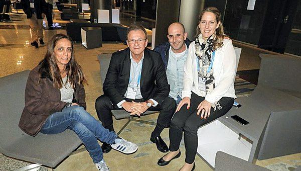 עם המשלחת הישראלית בכנס של Software AG