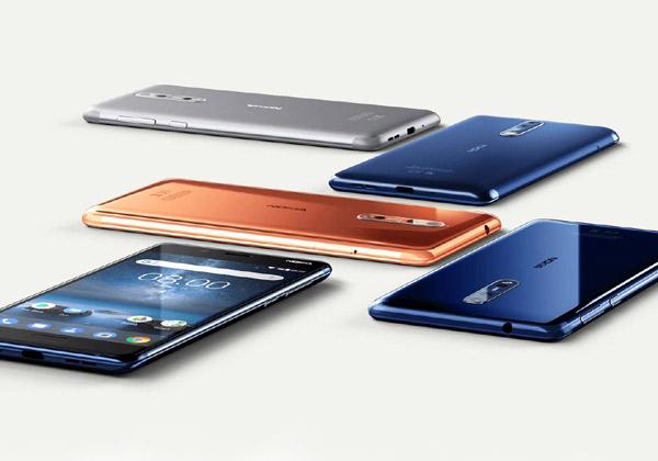 """Nokia 8. צילום: יח""""צ"""