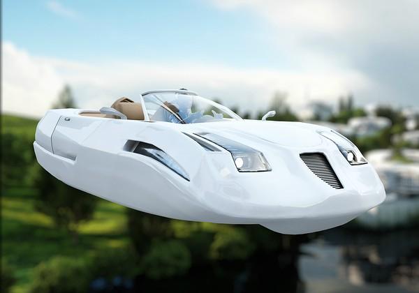 המונית המרחפת של Kitty Hawk - שונה ממה שדמיינו. אילוסטרציה: BigStock
