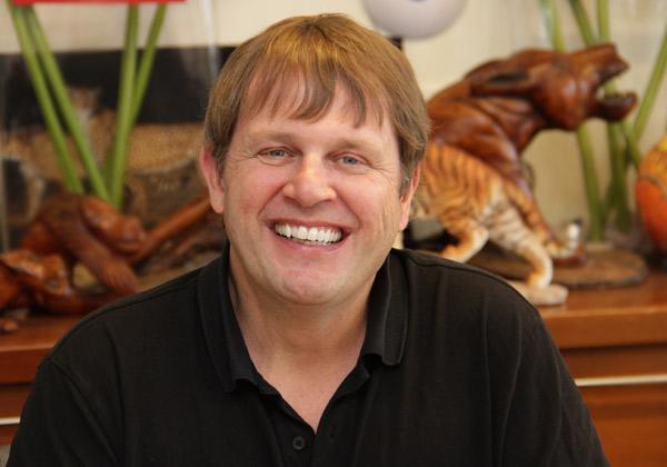 קווין סימזר, סגן נשיא בכיר, מכירות שיווק ופיתוח עסקי בטרנד מיקרו. צילום: יניב פאר