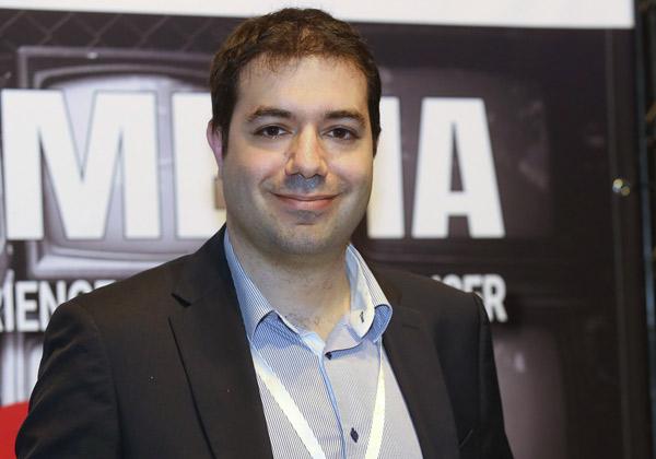 תומס איסה, מנהל מוצר לפתרונות מולטימדיה מקצועיים של סוני באירופה. צילום: ניב קנטור