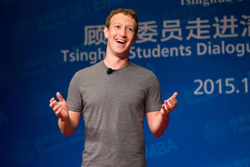 """כתשעה מיליון דולר בשנה על נסיעות ואבטחה. מארק צוקרברג, מנכ""""ל ומייסד פייסבוק. צילום: Freisehamburg, מתוך ויקיפדיה"""
