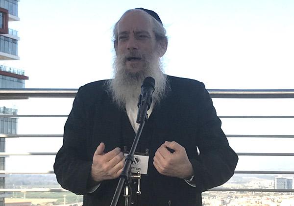 הרב חנוך זייברט, ראש עיריית בני ברק. צילום: אבי בליזובסקי