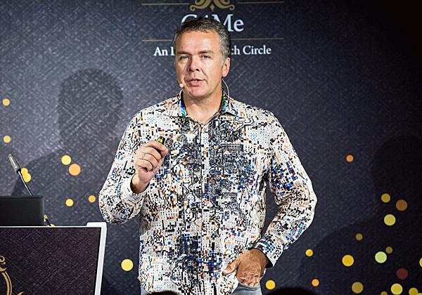 """דיוויד וורד, סמנכ""""ל טכנולוגיות וארכיטקט ראשי בסיסקו העולמית. צילום: תומר פולטין"""