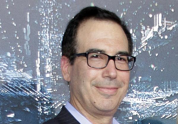 שר האוצר האמריקני, סטיבן מנוצ'ין. צילום: ג'ו סיר, BigStock