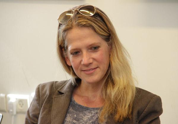 שירלי זלצמן, מנהלת שיווק Percepto. צילום: יניב פאר